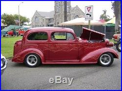 New 1938 Chevrolet Coupe Sedan Car Smooth Steel 16g Running Boards all Models