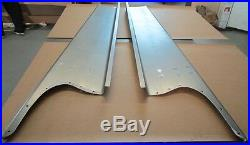 New 1938 Chevy/GMC Truck 1/2 ton Smooth Steel 16g Running Boards Hot Rod Street