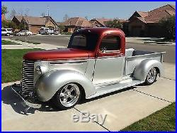 New 1940 2 Wider Chevy/GMC Street Truck 1/2ton Smooth Steel 16g Running Boards