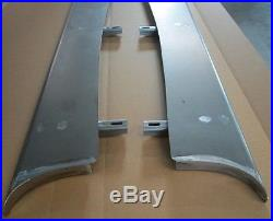 New 1940 Chevrolet Coupe Sedan Car Smooth Steel 16g Running Boards all Models