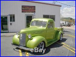 New 1940 Chevy/GMC Truck 1/2 ton Smooth Steel 16g Running Boards Hot Rod Street