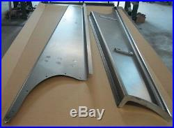 New 1941 Chevy/GMC Truck 1/2 ton Smooth Steel 16g Running Boards Hot Rod Street