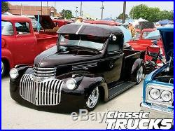 New 1942 2 Wider Chevy/GMC Street Truck 1/2ton Smooth Steel 16g Running Boards