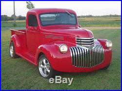 New 1946 Chevy/GMC Truck 1/2 ton Smooth Steel 16g Running Boards Hot Rod Street