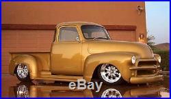 New 1950 2 Wider Chevy/GMC Truck 1/2 ton Smooth Steel 16g Running Boards