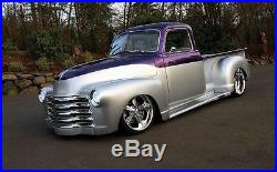 New 1953 Chevy/GMC Truck 1/2 ton Smooth Steel Running Boards Hot Rod Street