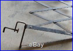 RUNNING BOARD EXTENDABLE LUGGAGE RACK T A Ford Chevy Dodge Pontiac Olds Buick