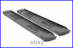 Rough Country Chevy HD2 Running Boards 19-20 GM 1500 / 2500 HD Crew Cab
