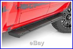 Rough Country HD2 Cab Length Running Boards-Black, Silverado/Sierra SRB071785