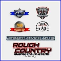 Rough Country HD2 Cab Length Running Boards-Black, Silverado/Sierra SRB990677