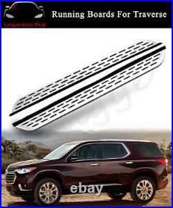 Running Board fits for Chevrolet Chevy Traverse 2018-2021 Side Step Nerf Bars