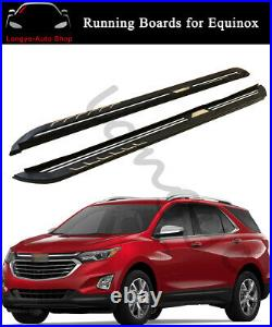 Running Board fits for Chevrolet Equinox 2018-2020 Side Step Nerf Bars Protector
