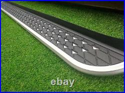 Running Boards Side Steps Pedals Nerf Bar fits for Chevrolet Equinox 2018-2021