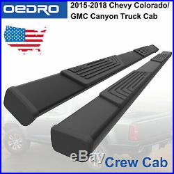 Running Boards fit for 2015-2019 Chevy Colorado/GMC Canyon Side Steps Crew Cab