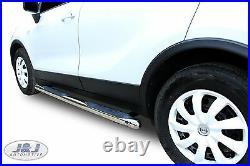 SB359 CHEVROLET TRAX 2012 -up Luxury Chrome Side Steps Bars Running Board