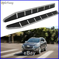 Side Steps Fit for Chevy Equinox 2018 2019 Running Boards Iboard Nerf Bar 2pcs