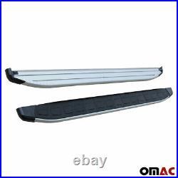 Side Steps Running Boards Aluminum Nerf Bars 2 Pcs. For Chevrolet Trax 2015-2021