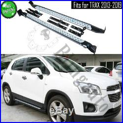 Side steps fits for Chevrolet TRAX 2013-2019 running board nerf bar protect beam