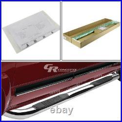 Silver 3 Side Step Nerf Bar Running Board For 00-14 Chevy/gmc Tahoe/yukon Suv