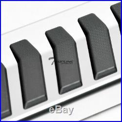 Topline For 07-18 Silverado/Sierra Extended 6 OE Aluminum Running Boards-Silver