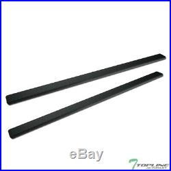 Topline For 2015-2020 Colorado/Canyon Ext i4 Aluminum Running Boards Matte Blk