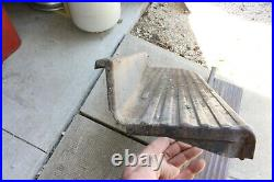 Vintage 1940's Car/Truck Running Boards Chevy/Ford Dodge Truck Car Accessory