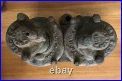 Vintage Dead Easy Running Board car tyre pump, Dodge Chevy Model T Ford Stutz RR