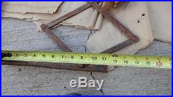 Vintage RUNNING BOARD EXTENDABLE LUGGAGE RACK Model T A Ford chevy dodge hudson