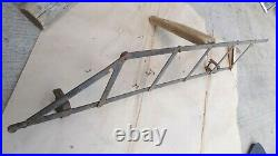 Vintage RUNNING BOARD EXTENDABLE LUGGAGE RACK Model T A Ford chevy hudson dodge