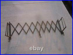 Vintage Running Board Expandable Luggage Rack Ford Model A T Chevy Dodge
