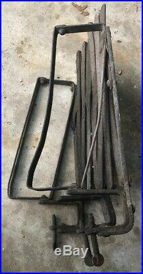 Vtg RUNNING BOARD EXTENDABLE LUGGAGE RACK Model T Ford Chevy Dodge Buick Hudson
