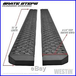 Westin 27-74725 Grate Steps Running Boards