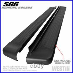 Westin For 2003-2013 Chevrolet Avalanche Black SG6 Running Boards 27-64745